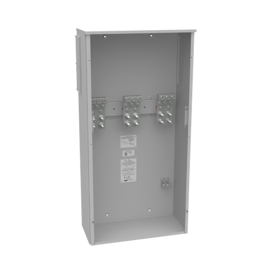 800 Ampere 1phase 600 Volt 24in-48in-11in Painted Steel Lift Off Screw Front .5-13 Studs 3 Lug Per Landing - 4-600kcmil 10k Ampere Interrupting Capacity
