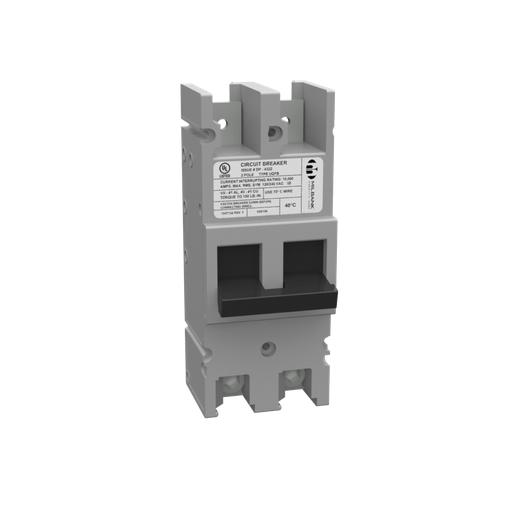 Milbank 100 Ampere 2 Pole 240 Volt Bolt-on 10k Ampere Interrupting Capacity Threaded Tang Line Side