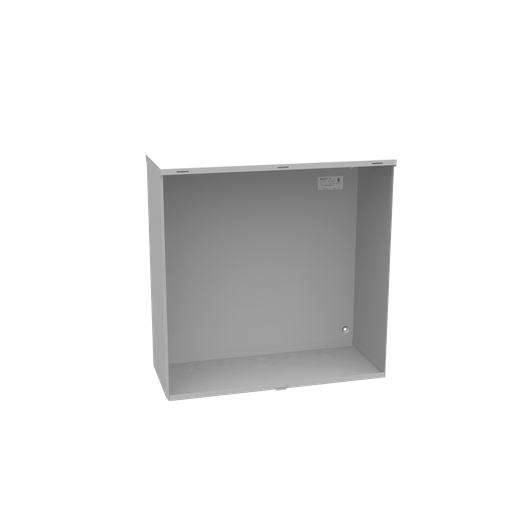 24X10x24 Hinge Cover Type 3R UL Listed Steel Knockouts ANSI 61 Gray Formed Hinges Padlocking Flip Latch Emboss Mounting Holes In Back