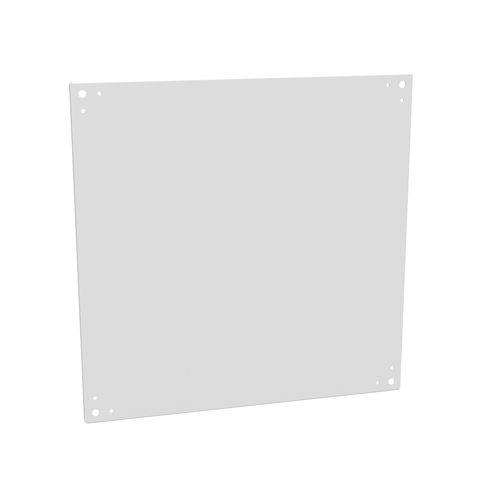 Milbank A-30P30 30 x 30 Inch White Painted Steel Enclosure Back Panel