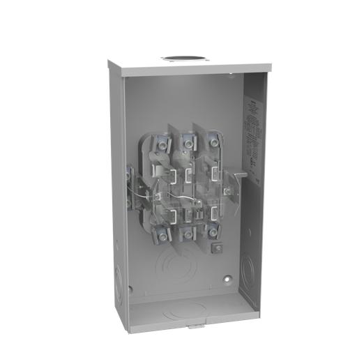 7 Terminal Ringless Small Hub Open Lever Bypass Medium Duty