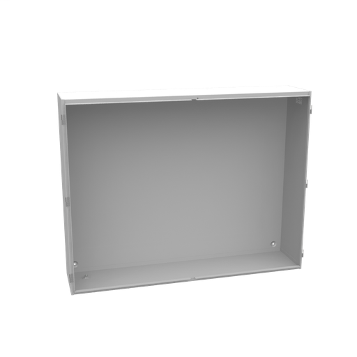 54X12x42 Hinge Cover Type 1 UL Listed Steel No Knockouts ANSI 61 Gray Double Doors Lift Off Hinges Wing Nut With Door Hole For Latching