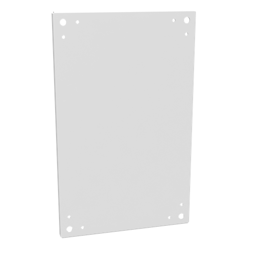 Back Panel Non UL Listed 24X16 Hinge Cover Type 3R Enclosures Type 4 Enclosures White Steel