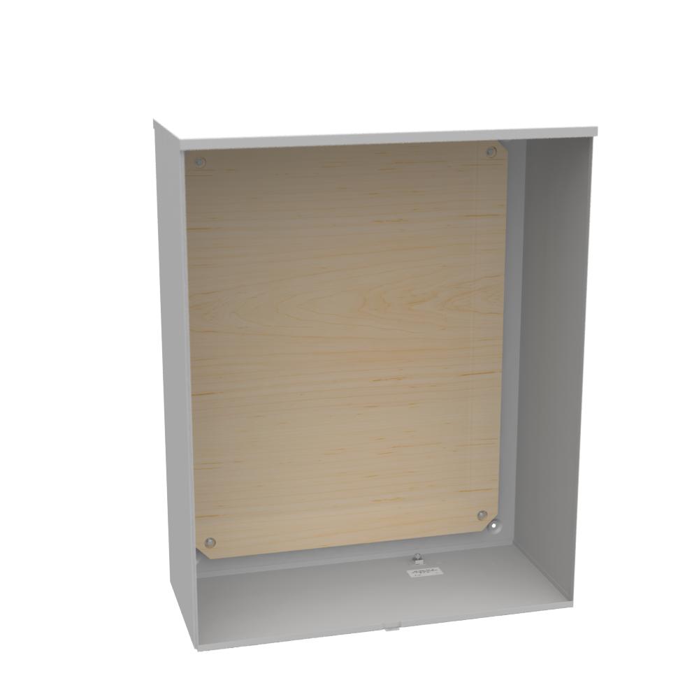 Milbank U9398-O 32 x 40 x 14 Inch NEMA 3R Plywood Current Transformer Enclosure