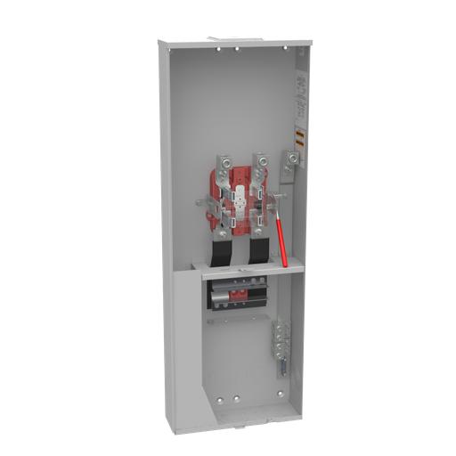 4 Terminal Ringless Large Closing Plate 2-main Breaker Provision Single Connector Locking 4-600kcmil