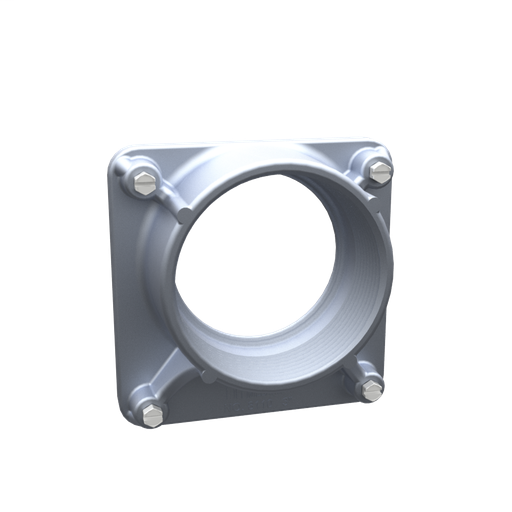3 Inch Hub With Stainless Steel Mounting Screws