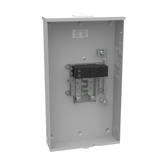 Unmetered Small Closing Plate 1-200 Ampere Main Breaker 8 Branch Circuit