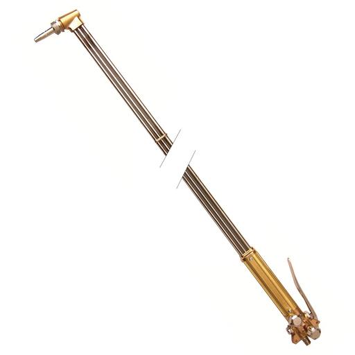 Gas Axe straight cutting torch, 4 ft, 90 deg