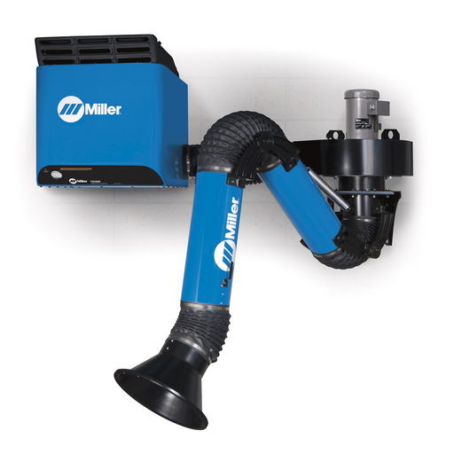 FILTAIR® SWX-D (Disposable Filter) Single-Arm Package, 12 ft. Standard Fume Extraction Arm