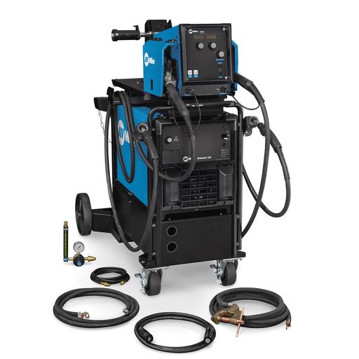 Deltaweld® 350 230/460V MIGRunner™ with Dual Intellx™ Feeder