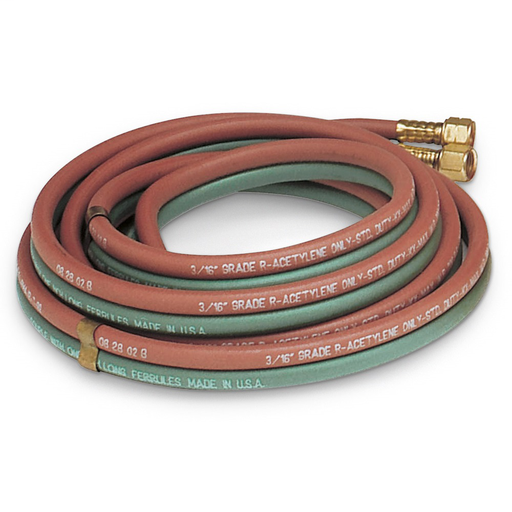 Twin Hose for Acetylene, 25 ft