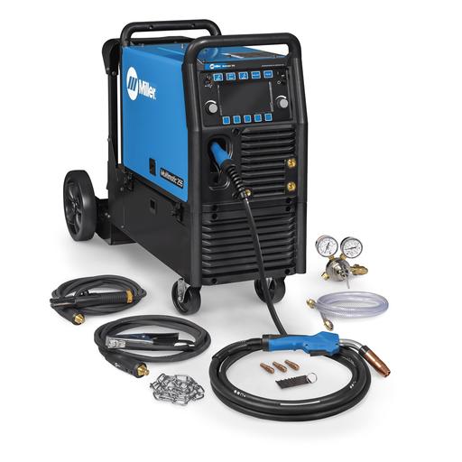 Multimatic® 255 Multiprocess Welder w/ EZ-Latch™ Running Gear- 208-575V