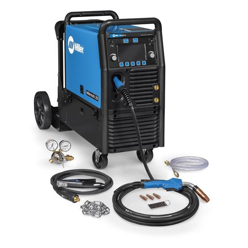 Millermatic® 255 MIG/Pulsed MIG Welder w/ EZ-Latch™ Running Gear- 208/240V