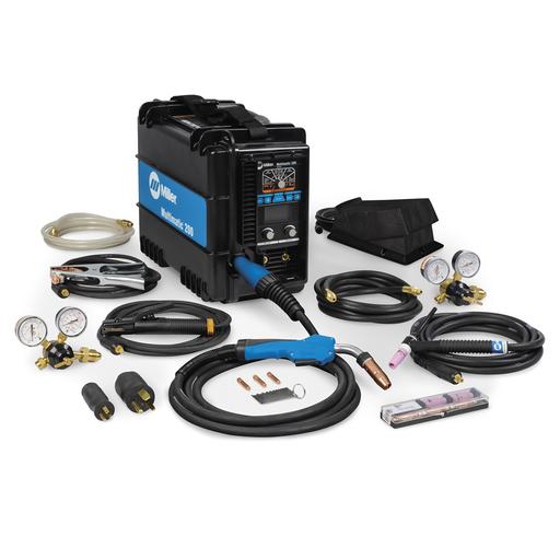 Multimatic® 200 Multiprocess Welder with TIG Kit
