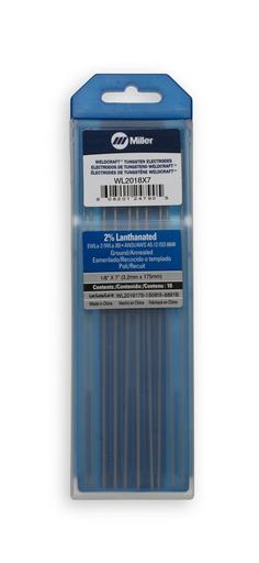 """Weldcraft™ 2% Lanthanated Tungsten, 1/8"""" x 7"""" (3.2 mm. X 175 mm.)"""