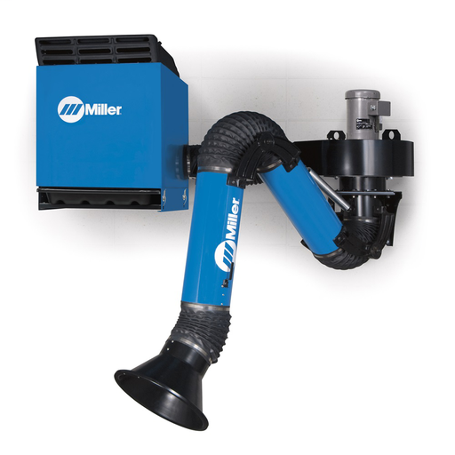 FILTAIR® SWX-S (Self Cleaning Filter) Single-Arm Package, 7 ft. Standard Fume Extraction Arm