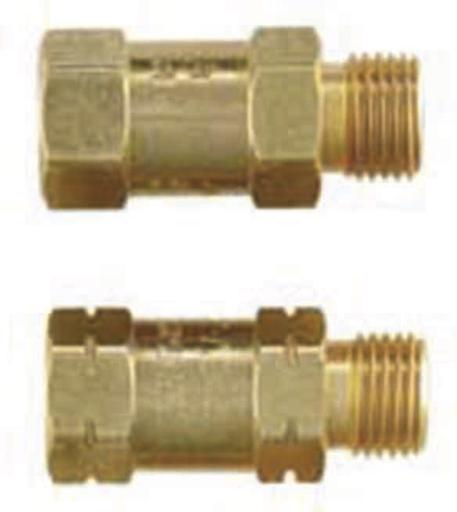 Check valve pair- Regulator Mount