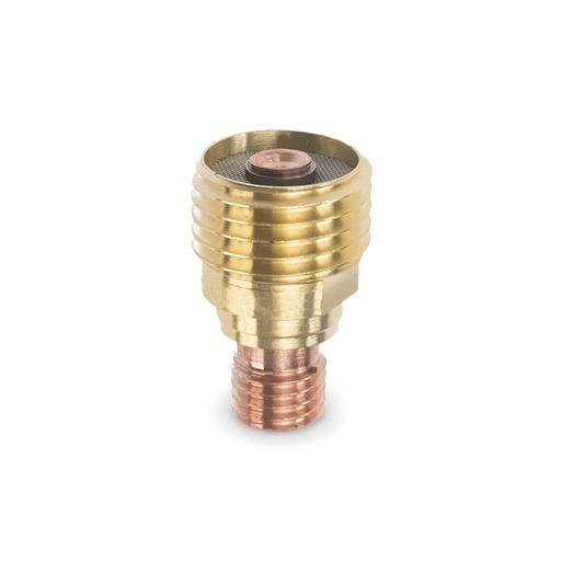 """Weldcraft™ Small Gas Lens, 3/32"""" (2.4 mm.)"""