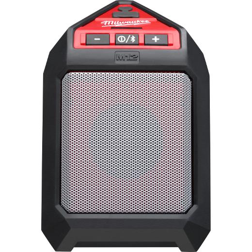 Milwaukee® M12™ 2592-20 Cordless Jobsite Speaker, 12 VDC, Lithium-Ion Battery