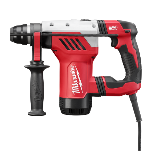 Milwaukee® 5268-21 Reversing Corded Rotary Hammer Kit, 1-1/8 in SDS-Max® Chuck, 5500 bpm, 1500 rpm No-Load, 4 in Max Core Bit Compatibility, 1-1/8 in Max Solid Bit Capacity, 12-1/2 in OAL
