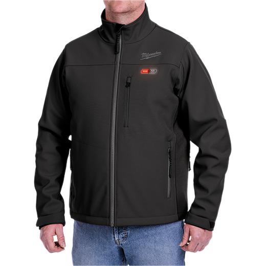 Milwaukee 202B-21XL M12™ Heated ToughShell™ Jacket Kit, Black - XLarge