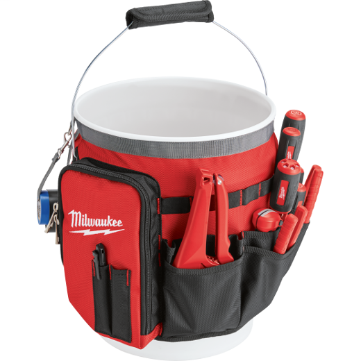 Milwaukee® 48-22-8175 Bucket Organizer Wrap, 13.39 in H x 2.17 in W x 10.04 in D, 34 Pockets, Ballistic Base/Canvas