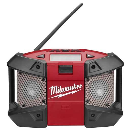 Milwaukee® 2590-20 M12™ Cordless Radio, 12 VDC, Lithium-Ion Battery, Tool Only