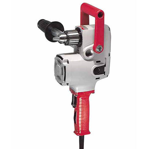 MILWAUKEE 1675-6 1/2-IN REVERSING HOLE-HAWG 1200/300RPM DRILL