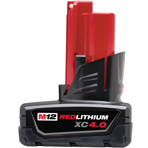 MILWAUKEE M12™ REDLITHIUM™ XC 4.0 Extended Capacity Battery Pack