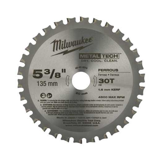 Milwaukee Tool 48-40-4505 14 Inch 72 Teeth Carbide Tipped Dry Cut Circular Saw Blade