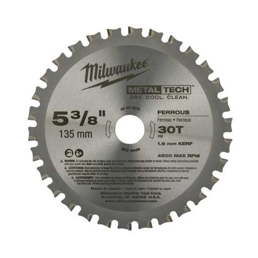 "Circular Saw Metal Cutting Blades, 6-1/2"" Dia., 1 Pack"