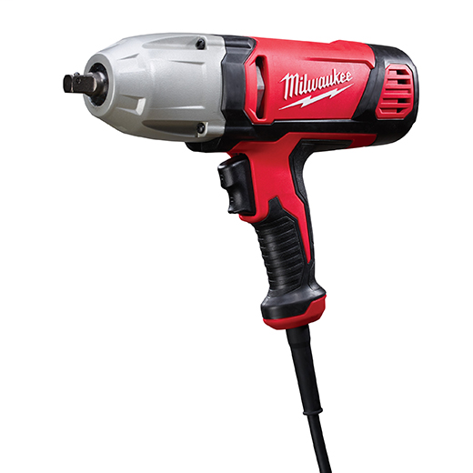 MILWAUKEE 1/2 in. Impact Wrench with Rocker Switch and Detent Pin Socket Retention
