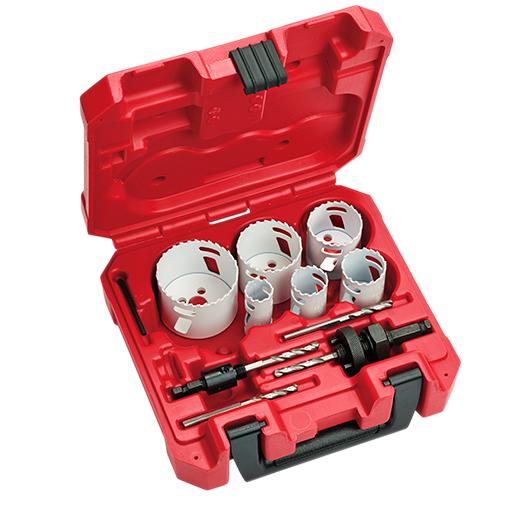MILWAUKEE HOLE DOZER™ Electricians Hole Saw Kit - 10PC