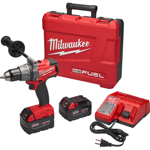 Milwaukee Tool 2703-22 M18 FUEL 1/2 Inch Drill and Driver Kit