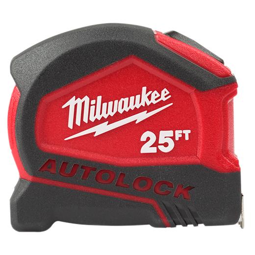 Milwaukee 48-22-6825 25ft Compact Auto Lock Tape