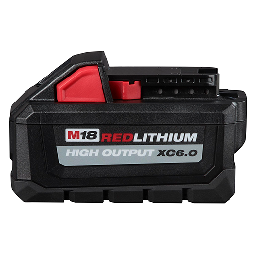 Milwaukee 48-11-1865 M18™ REDLITHIUM™ HIGH OUTPUT™ XC 6.0Ah Battery Pack