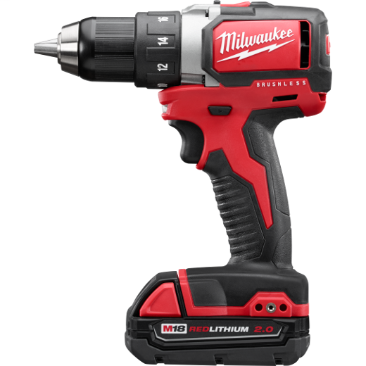 "Milwaukee 2701-22CT M18™ 1/2"" Compact Brushless Drill/Driver Kit"