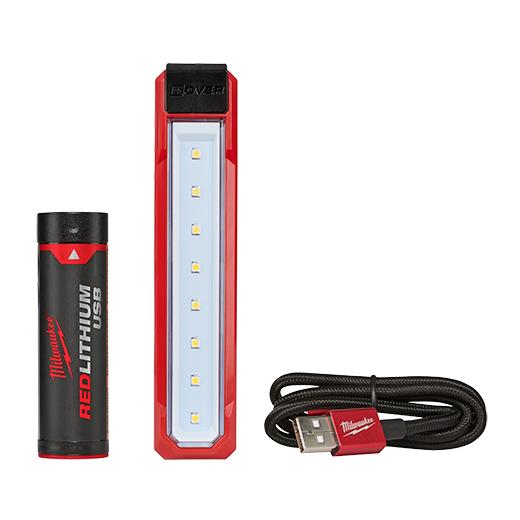 Milwaukee 2112-21 USB Rechargable ROVER#8482; Pocket Flood Light, Includes USB Battery, USB Cord