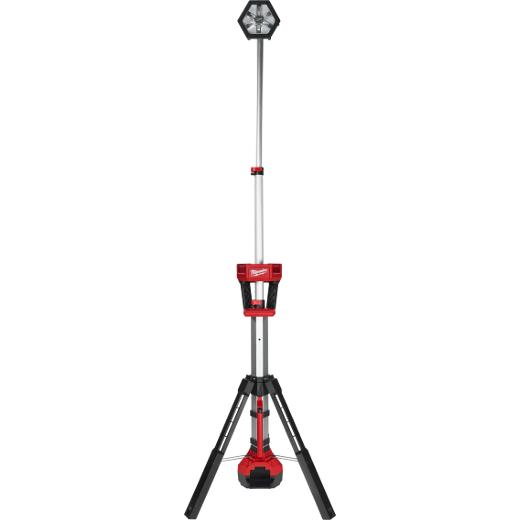 Milwaukee 2130-20 M18#8482; ROCKET#8482; LED Tower Stand Light, 2000 Lumens, Adjustable Head