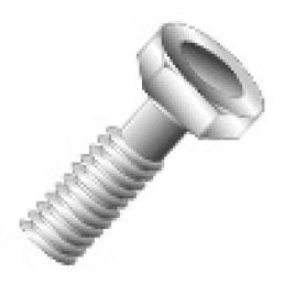 Minerallac 74420 3/8-16 x 1-1/4 Inch 18-8 Stainless Steel Hex Head Cap Screw