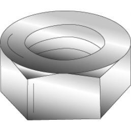 Minerallac,40110J,8-32 HEX NUT ZP