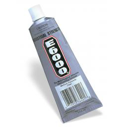 Adhesive E-6000 CLEAR 3.7oz TUBE