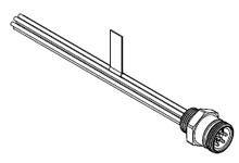 WOODH 2R8006A20A120 MC 8PMR 12IN 16/1 PVC (130014-0078)
