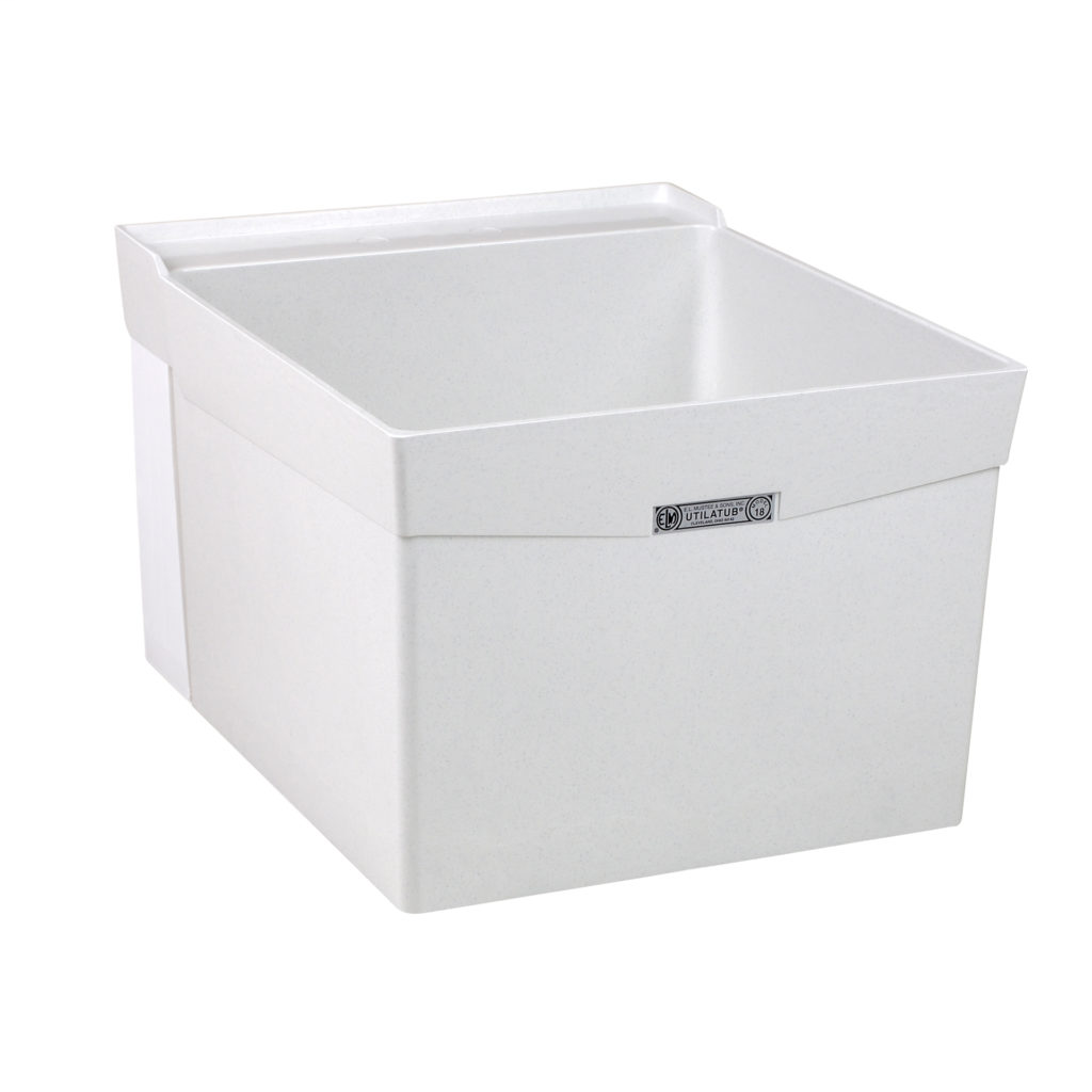 "20"" DURASTONE® UTILATUB® Laundry Tub - Wall"