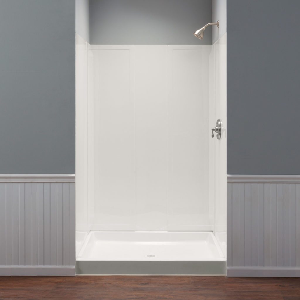 DURAWALL™ Square/Rectangular Shower Wall System - White