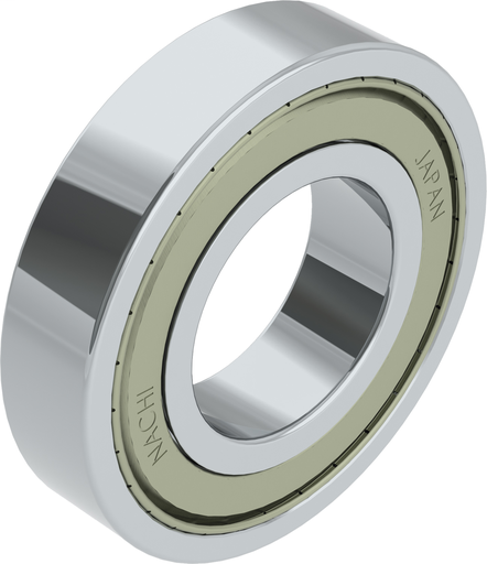 6318ZZC3 - Deep Groove Ball Bearing with 2 Shields
