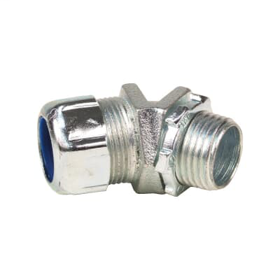 Thomas & Betts 5241 3/8 Inch 45 Degree Non-Insulated Liquidtight Connector
