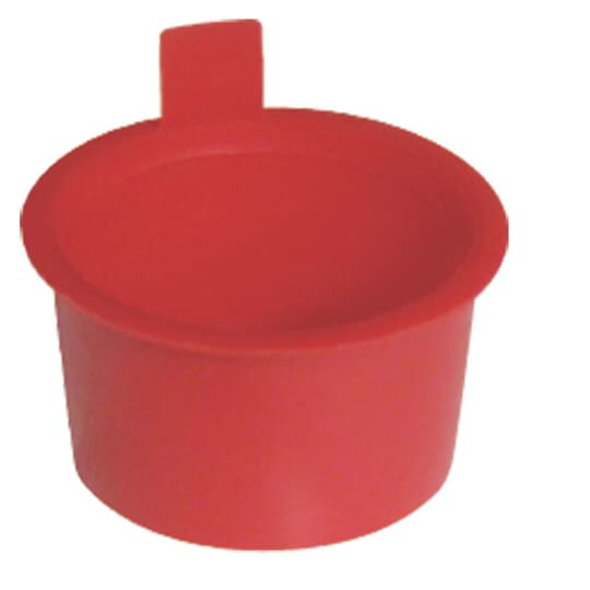 1 IN SCH 40 PLUG RED 1 = BAG OF 50