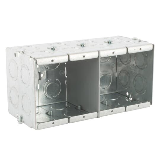 Steel City GW-435-G 4-Gang 3-1/2 Deep Steel Box