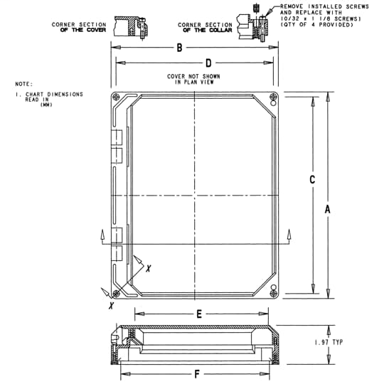12X10 HNG WINDOW KIT